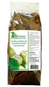 Achetez des feuilles de graviola sur la boutique Biologiquement.com